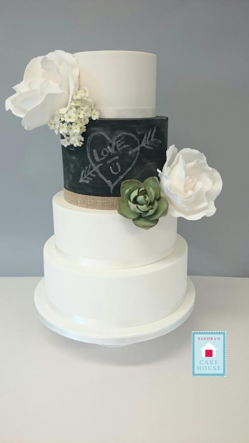 Love u! - Cake by Sandra Murphy