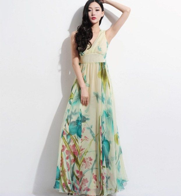 floral maxi dress for wedding floral aline maxi dress bohemian wedding bridesmaid by 4111