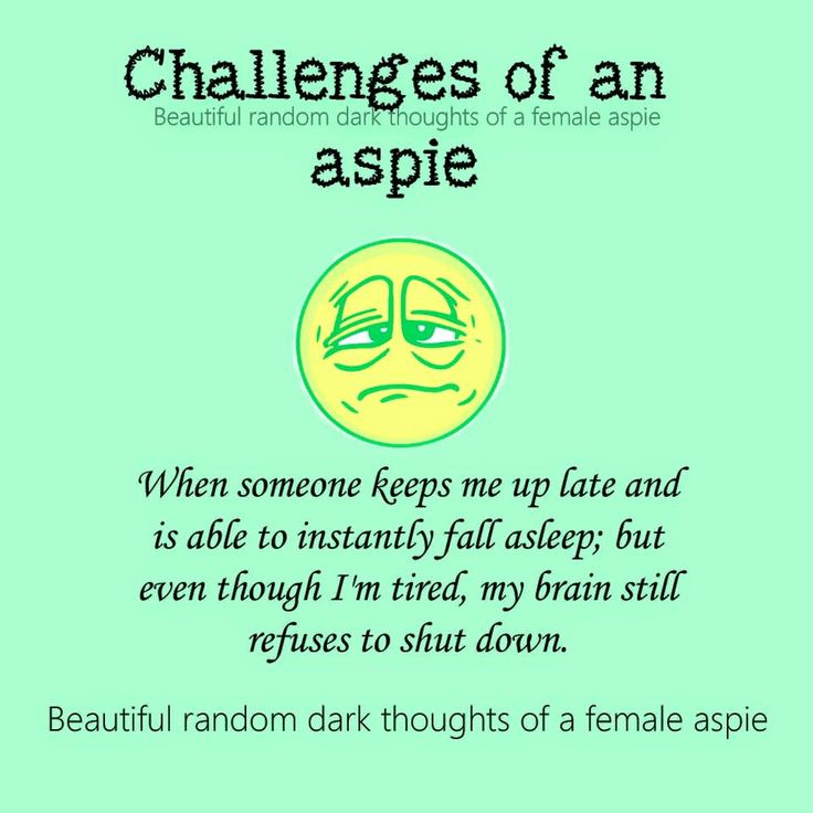 Adult asperger's syndrome dating other aspies
