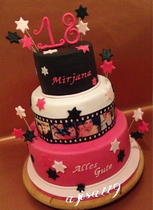 Geburtstagstorte, Birthday cake, Narodeninova torta
