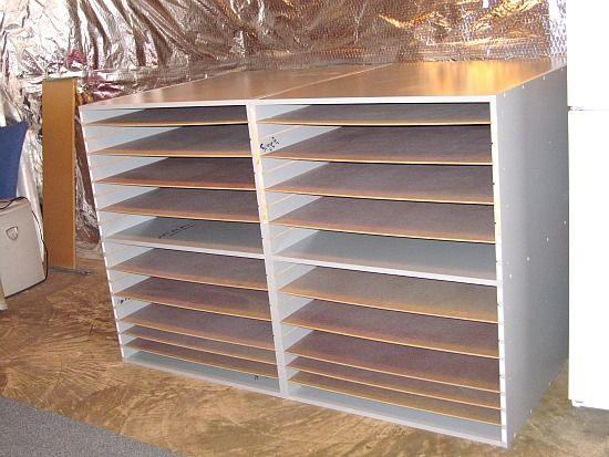 Mat Board Storage Section 4 Frame Shop Racks Print