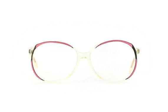 Lila Schöne Runde Brille Transparent Frauen von ClassicalSense
