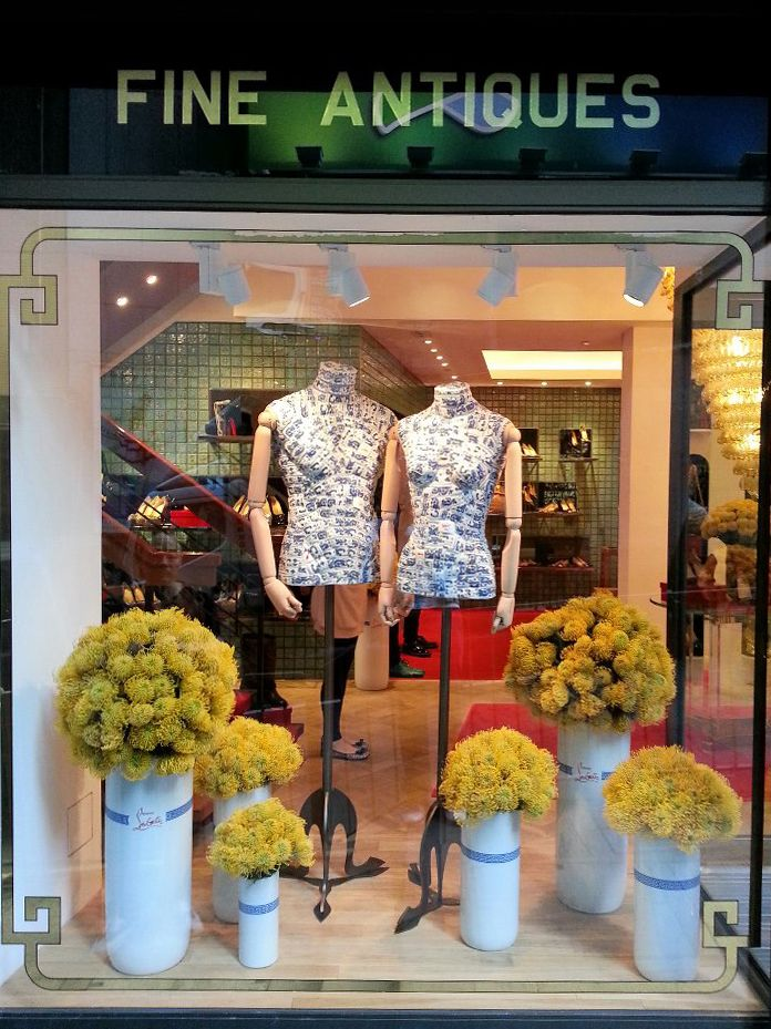 Trencadis Jianci Porcelain Mannequin Window Display for
