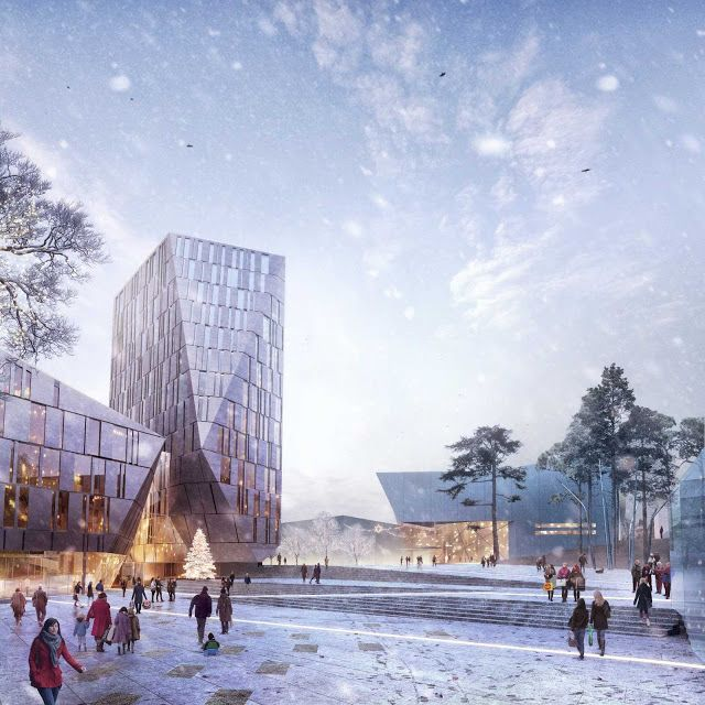 STRAUME DESIGN COMPETITION BY HAPTIC ARCHITECTS