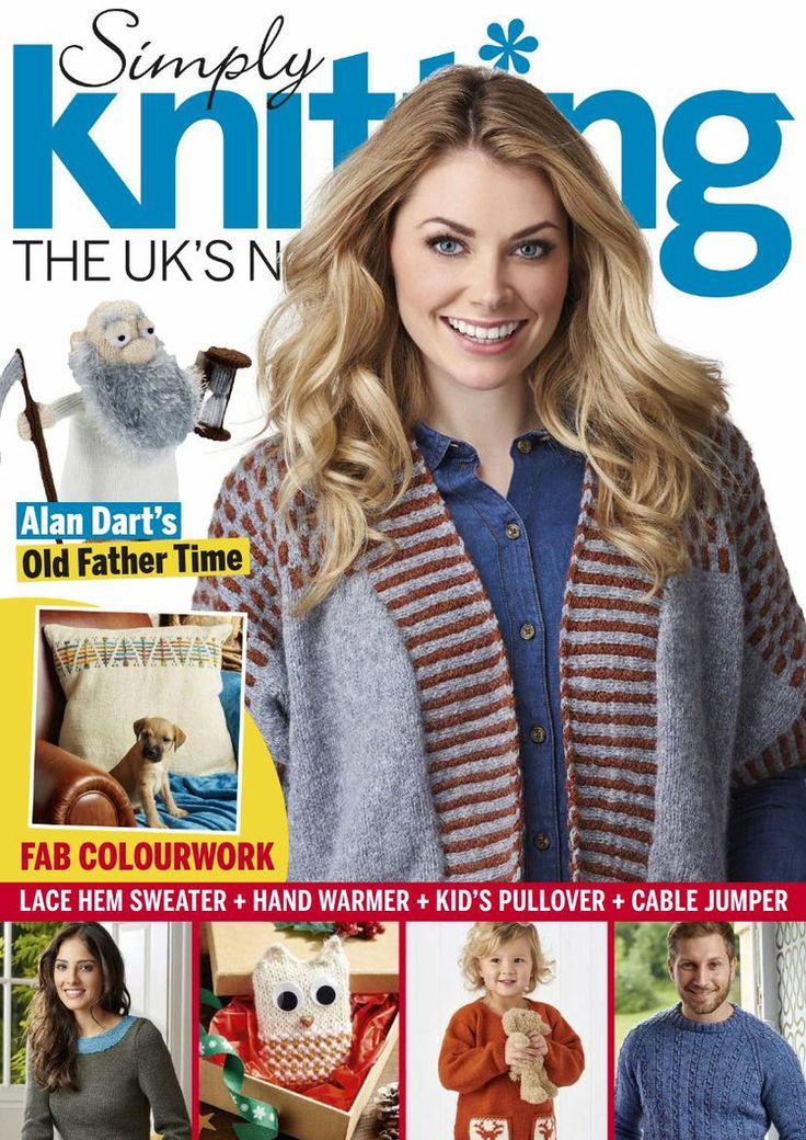 Simply Knitting January 2016 - 轻描淡写 - 轻描淡写