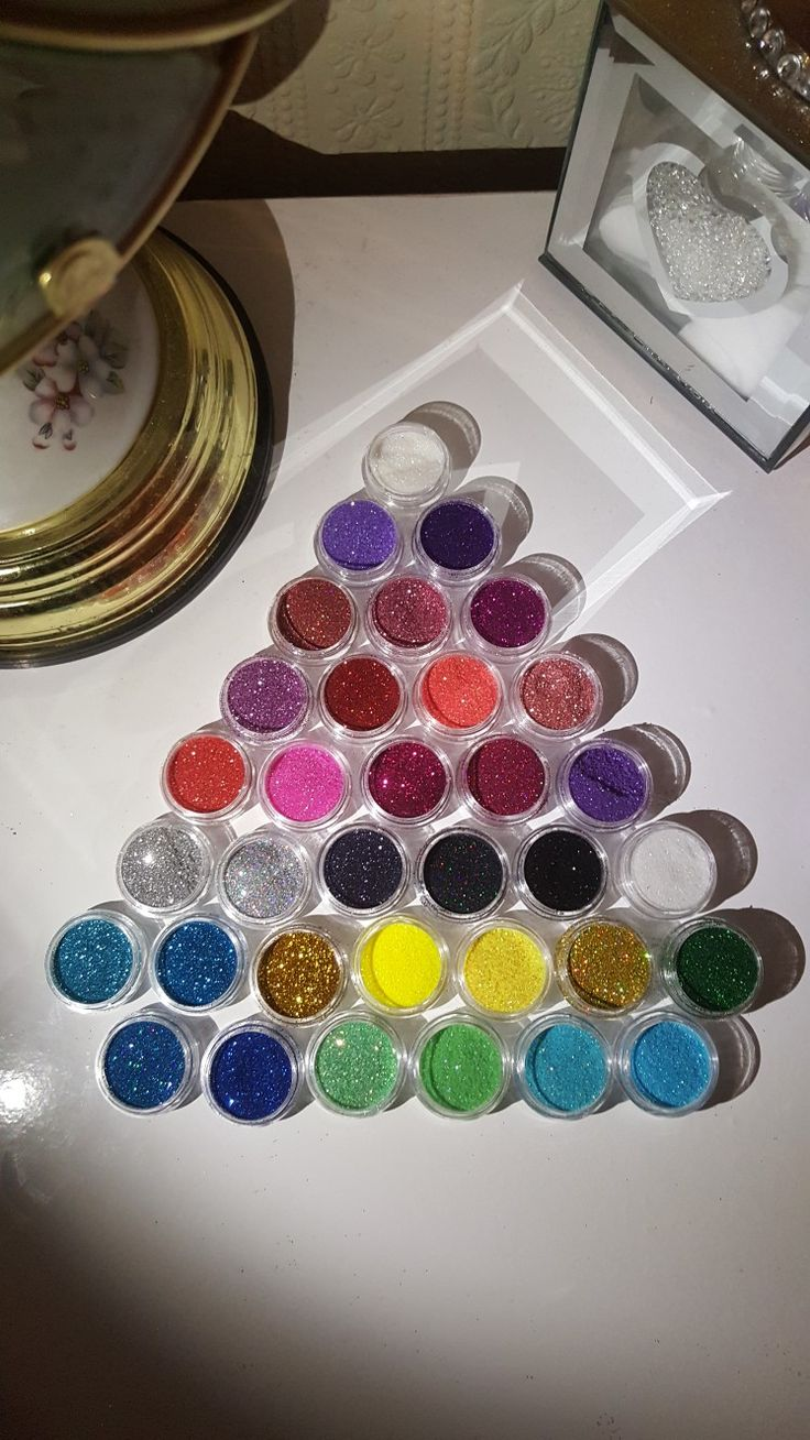 Litteraly gone and died to spakile heaven. love glitter. Love ths collection I've bought from eBay