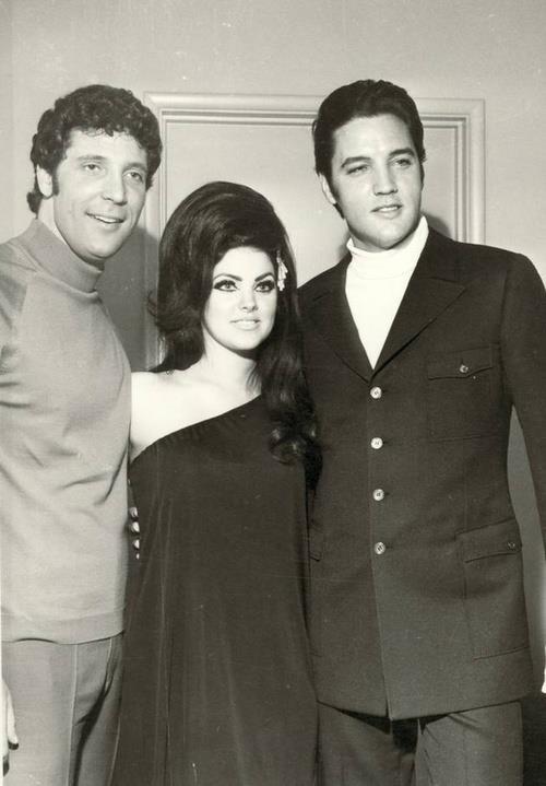 Tom Jones, Elvis and Priscilla