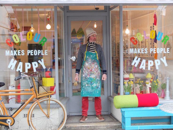 LONDON Colour makes people happy | Designer Explorer