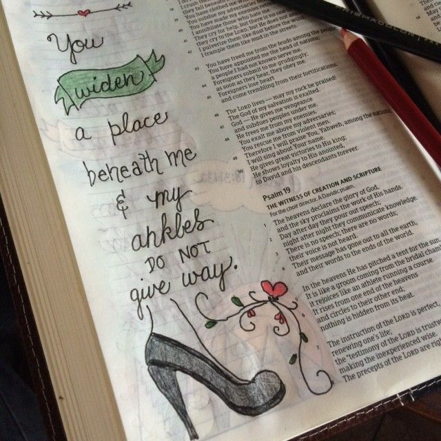 Today's #onemorestep#biblereading in Psalm 18:30-36 reminds us that heels or no heels, we don't have to worry about sprained ankles when we walk with him. Xo