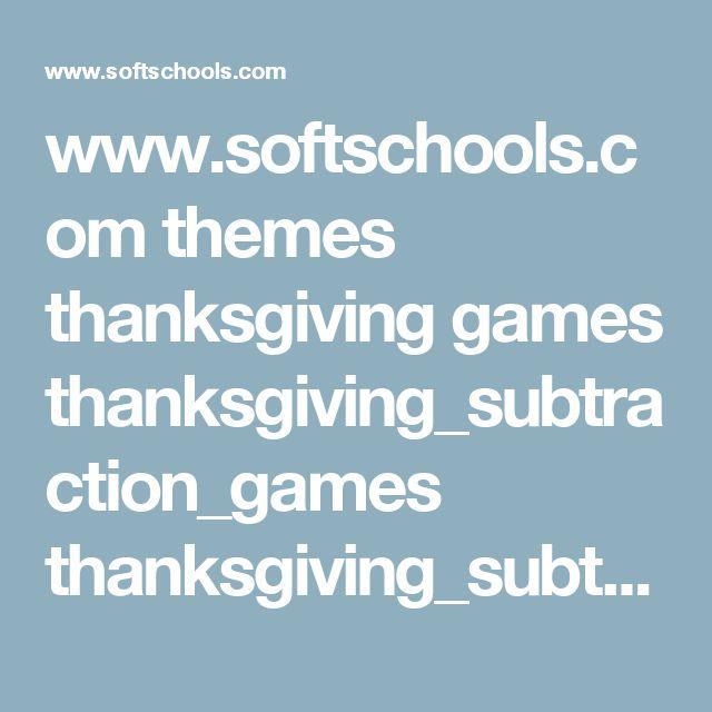 www.softschools.com themes thanksgiving games thanksgiving_subtraction_games thanksgiving_subtraction_game.swf