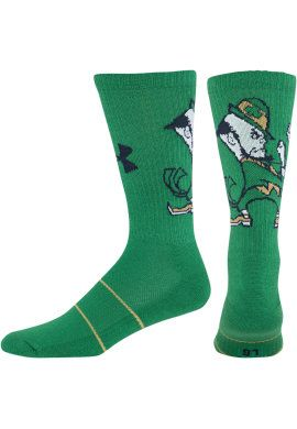 THEY. ARE. SO. COOL. I want.  A1406H Under Armour® Unisex Novelty Crew Socks   University Of Notre Dame