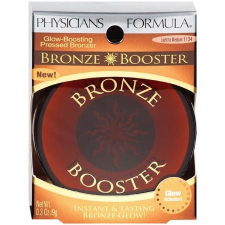 best satin/matte finish bronzer: Physicians Formula bronze booster glow boosting pressed Light/Medium