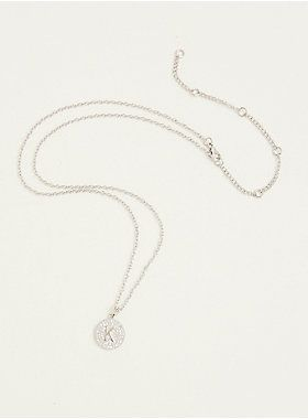 """""""K"""" Initial Charm Necklace   Torrid"""
