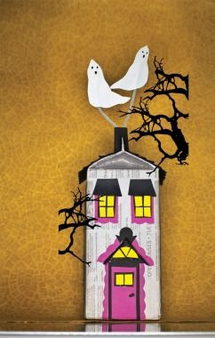 Eerie Milk Carton Haunted House - Halloween #DIY How-To!