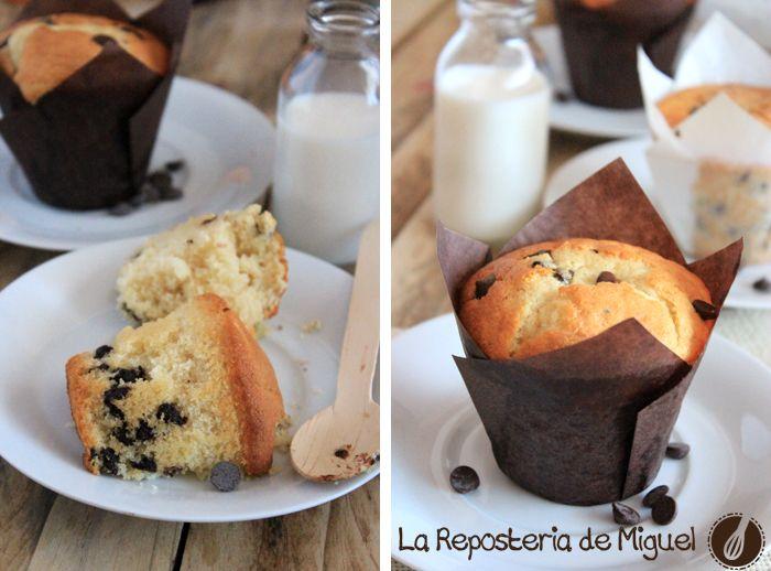 Muffins de yogurt bueno pues como no hay dos sin tres, después de haber publicado en los últimos tiempos varias recetas de cupcakes ( Cupcakes Triple Chocolate ) y la mas recie