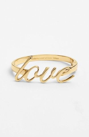 kate spade new york love bangle