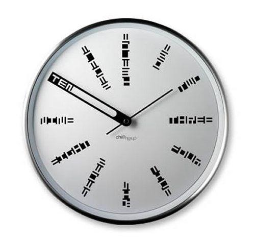 30 Extraordinary Clock Designs - Hongkiat