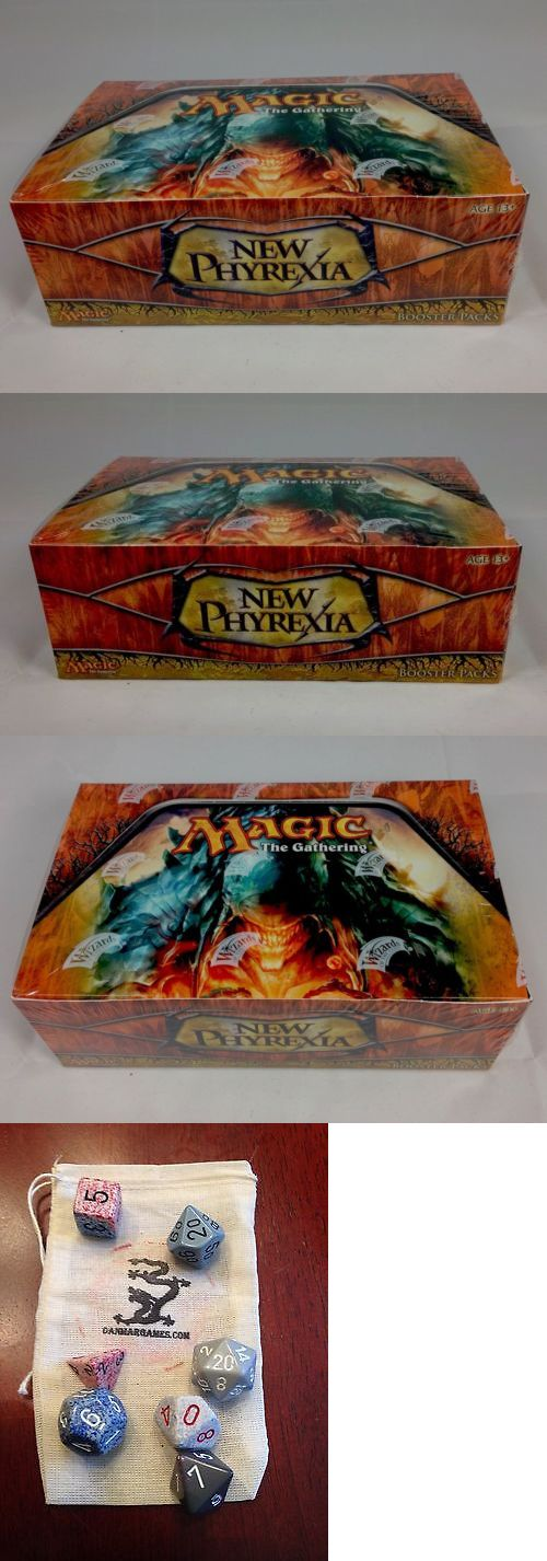 MTG Sealed Booster Packs 19109: Magic: The Gathering Mtg New Phyrexia Booster Box -> BUY IT NOW ONLY: $364.93 on eBay!