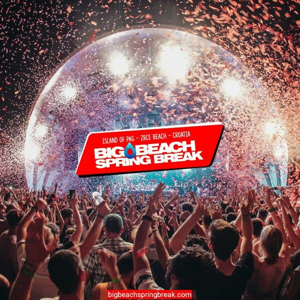 Der Spring Break 2016 am Zrce: Big Beach Spring Break. Ende Mai am Zrce feiern. http://bigbeachspringbreak.com Jetzt Frühbucher-Rabatt sichern #zrce #novalja #pag #springbreakers #springbreakisland #springbreak #bigbeach #bbsb #bbsb2016 #papaya #party #papayaclub #fun #spass #partytravel #partyurlaub #partytime #yolo #urlaub #best #beste #sommer #2016 #zrce2016
