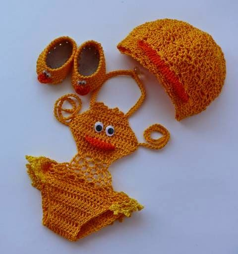 Sidney Artesanato: Biquíni de Crochet para menininhas.....cute - no pattern