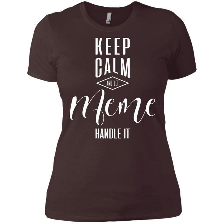 Keep Calm Meme T-Shirt #FitnessMemes
