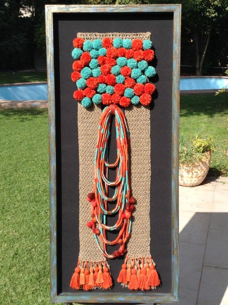 Fiber Art. Ethnic Crochet