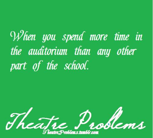 Omg same!! I have spent so much time in there and the choir room