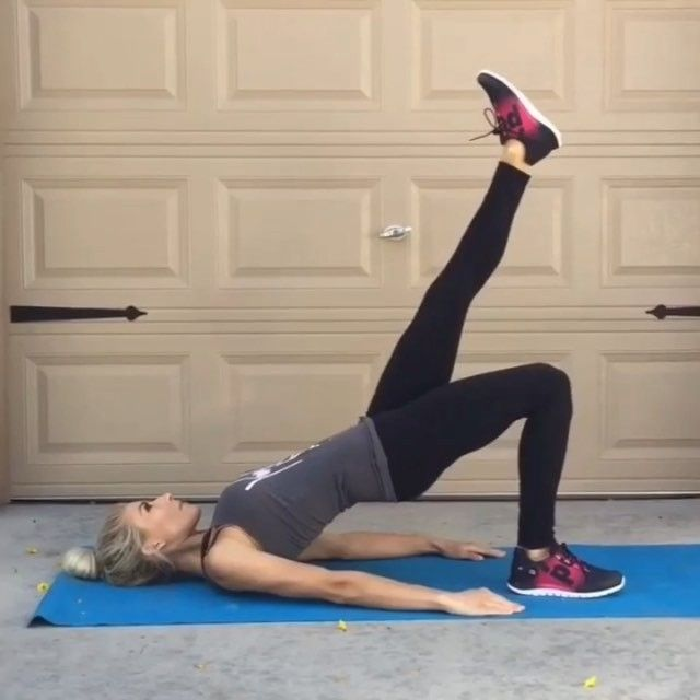 Butt Workout : 4 sets of 12 reps each exercise
