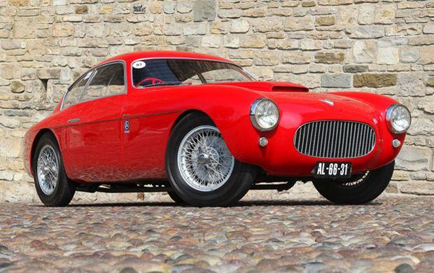 Only RHD 1953 Fiat 8V Zagato made in a series of 24.
