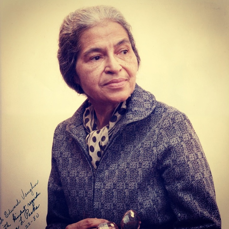 We Salute Rosa Parks Today & Forever for having the courage to do something different, something right, & something courageous!   Happy Birthday Mrs. Parks! We ❤You & Your Forever in Our ❤'s!!!  #BlackHistory #Day4⃣ #Proud #History #Life #Salutation #Salute #Greatness #Courage #Women #Encouraging #Inspiring #BlackWomen #Afro-American #Dedication #Our #Ancestors   GirlsAcquringLifeSkills