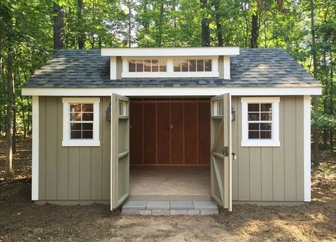 my backyard storage shed dreams have come true