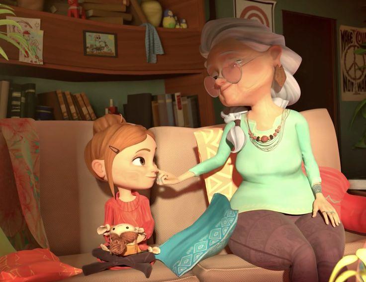 """""""Au fil de l'âge"""", un court-métrage d'animation poétique et rock 'n' roll ! J'adore !"""