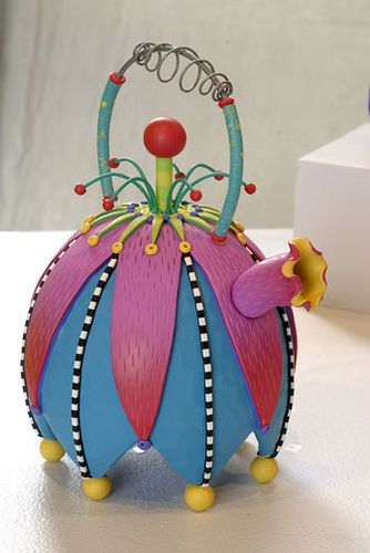RebeccaMazurZimmerman-Teapot#1 by Kathleen Dustin Design, via Flickr