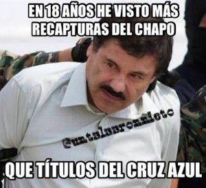 """La captura de """"El Chapo"""" ha causado tanto revuelo que los usuarios de redes sociales no dejan de crear memes sobre el asunto. Desde el día de ayer, la hazaña realizada por el Gobierno de México fue tomada como pretexto para crear decenas de imágenes graciosas sobre la tercer captura de Joaquín Guzmán Loera. […]"""