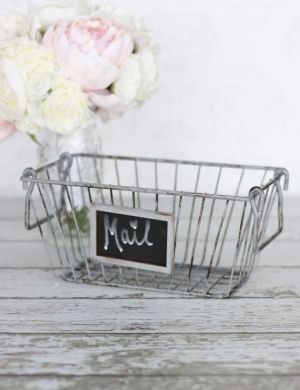 Rustic Basket Shabby Chic Vintage Home Decor by Zoie