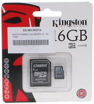 KARTA PAMIĘCI SD-MICRO/16 SDHC 16 GB
