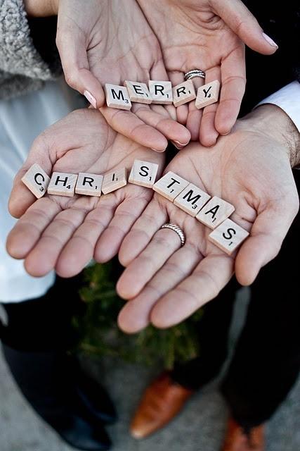 Great Christmas card idea!