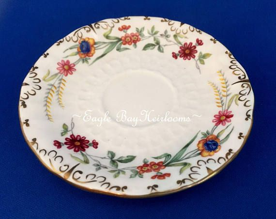 Antique  Royal Crown Derby  England  Chatsworth