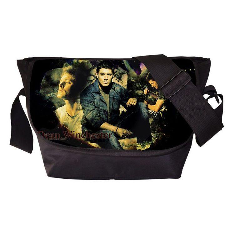 Tv Show Supernatural Young Men Women Messenger Bag Casual Travel Bag Boys Shoulder Sport Bags Girls School Bags For Teenagers