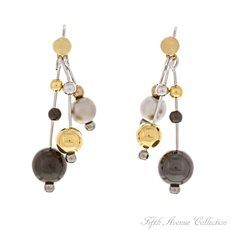 Gold Earring - A Little Lavish - United States - Fifth Avenue Collection - Jewellery that changes the way you see fashion