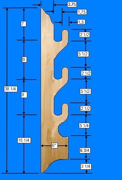 Free Gun Rack Plans - How to Build A Gun Rack...