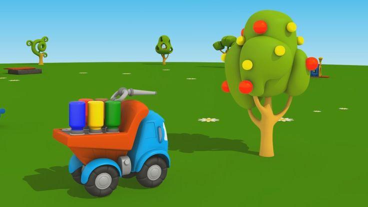 Cartoni Animati per Bambini - Leo Junior e l'albero di mele: coloriamo i...