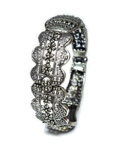 Antique look of this bracelet, makes it so special and unique. Visit elmory's website for more details.