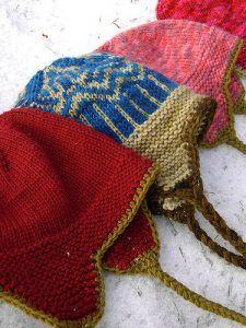 Free Knitting Pattern Thorpe Earflap Hat