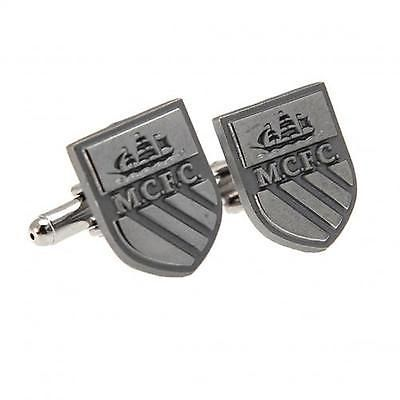 Manchester city f.c. #cufflinks #chrome official licensed #product,  View more on the LINK: http://www.zeppy.io/product/gb/2/302074234011/