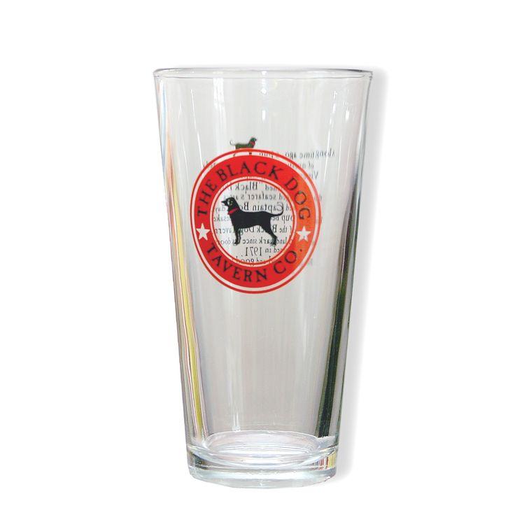The Black Dog::Gear::Mugs::Pub Logo Ale Glass