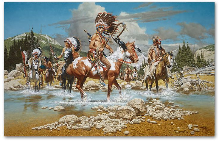 The Chiefs - by Frank McCarthy