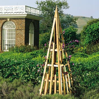 Cedar Plant Pyramid Traditional Garden Statues And Yard Art