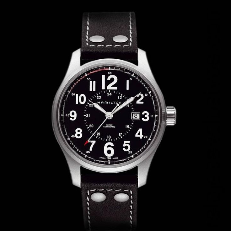 Hamilton Officer Khaki Auto H70615733 | Relojes Exclusivos