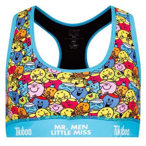 Tikiboo Mr. Men Little Miss Sports Bra Multi £24.99